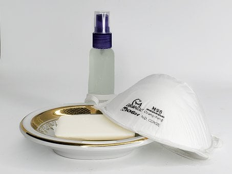 Surgical Mask, Soap, Antibacterial