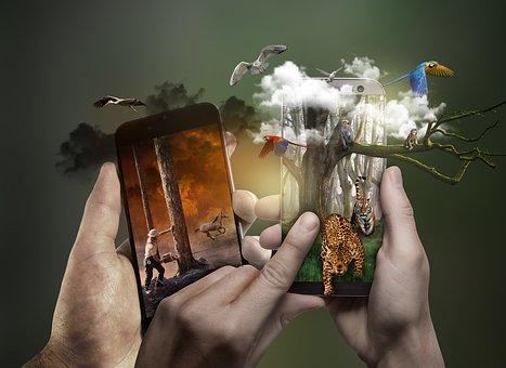 Contaminación, Amazonia, Smarthphone, Móvil, Technology