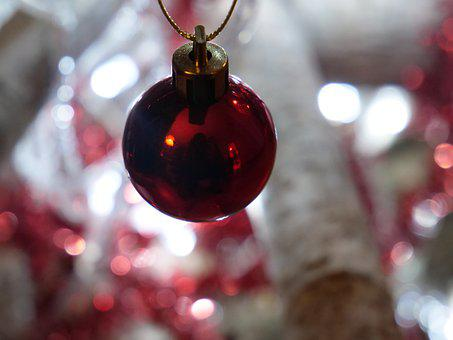 Ball, Christmas, Decoration, December