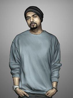 Rapper, Punjabi Rapper, Hiphop Rapper