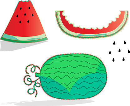 Watermelon, Seeds, Summer, Cold, Fruit, Red, Melon