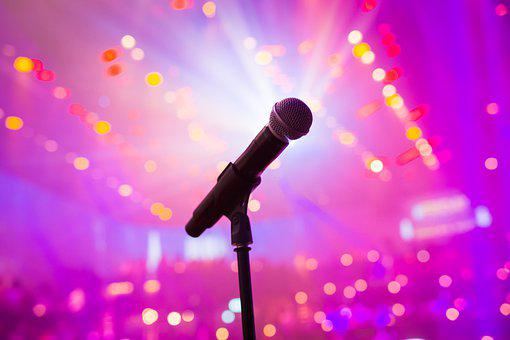 Microphone, Comedy, Crowd, Event, Applause, People