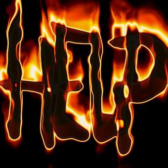 Help, Save, Fire, Flame, Burn, Brand, Blaze, Setting