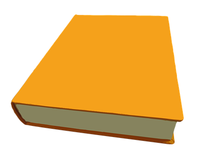 Book, Library, Literature, Books, Cover, Orange