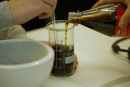 Coca Cola, Experiment, Active Coal, Filtration
