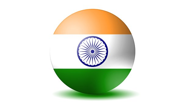 India Flag, 3d Flag, India, 3d, Flag, National, Country