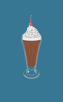 Chocolate, Ice Cream Chocolate, Ice Cream, Cream, Sweet