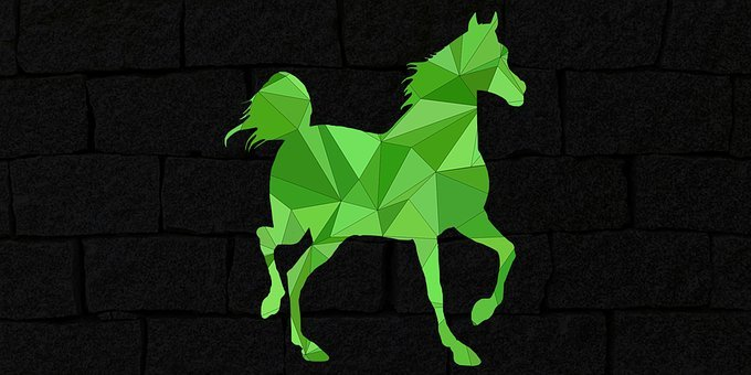 Horse, Low Poly, Ride, Animal, Riding Horse