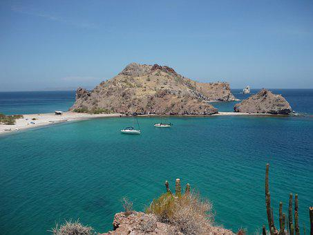 Baha California, The Sea Of Cortez, Mexico, Views, Sea