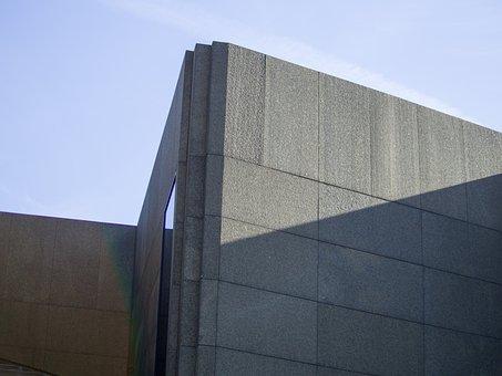 Brutalism, Concrete, Architecture, Construction, Sleek