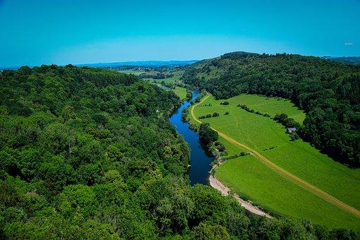 Symonds Yat, View, Forest, Landscape