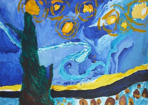 Vincent Van Gogh, The Post-impressionism, Picture