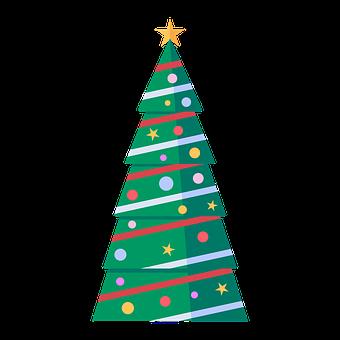 Tree, Merry, Christas, Happy, Decoration, Christmas