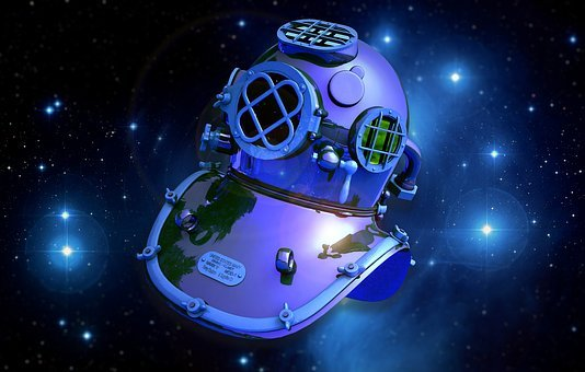 Diving Bell, Astronaut, Astronomy
