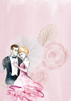 Background, Pink, Romantic, Floral