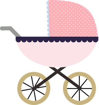 Baby Buggy, Clipart, Kids, Graphics