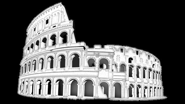 Rome, Coliseum, Italy, Landmark, Architecture, Roman