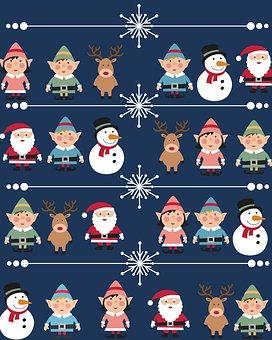 Christmas, Santaclaus, Fatherchristmas, Santa, Deer