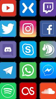 Icons, Social Networks, Software, Vectors, Social