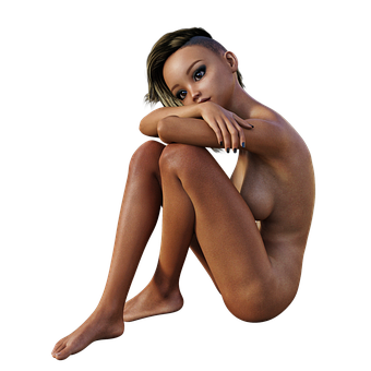 Woman, Act, Portrait, Naked, Attractive