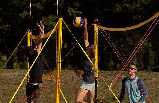 Volleyball, Beach Volleyball, Summer