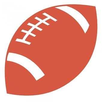 Orange, Football, Ball, Brown, Pig Skin, Close-up