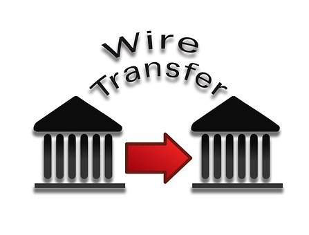 Wire Transfer Payment, Pay, Payment, Business, Money