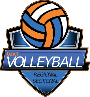 Volleyball, Logo, Volley, Olympic, Ball, Pictogram