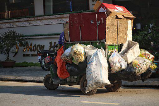 Vietnam, Travel, North Vietnam, Sapa, Garbage Disposal