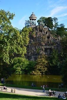 France, Paris, Park, Day, Nature