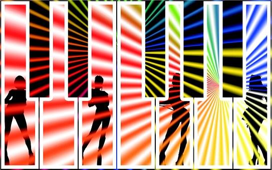 Music, Dance, Piano, Fun, Party