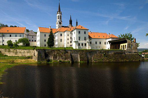 The Monastery Of Vyšší Brod, Vyšší Brod, South Bohemia