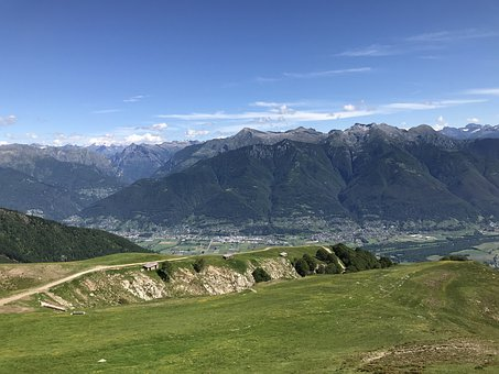 View From Alpe Foppa, Alpine Route, Alps, Alpine