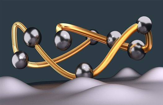 Spheres, Silver, Gold, Brilliant, Ball