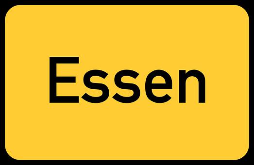 Essen, Town Sign, City Limits Sign