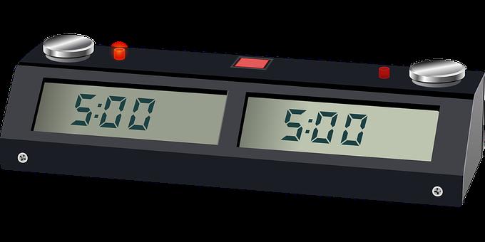 Clock, Chess, Chess Clock, Chronometer