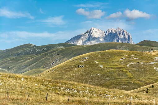 Mountain, Gran Sasso, The Apennines, Landscape, Holiday
