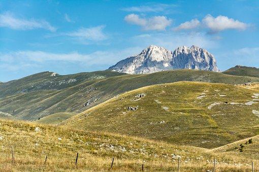 Mountain, Gran Sasso, The Apennines