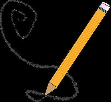 Pencil, Pen, Draw, To Write, Stroke, Creativity, Art