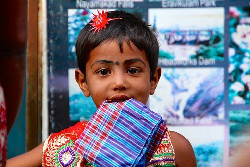 Boy, Indians, India, Girl, Children, Smile, Happy, Play