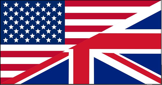 Englih, Flag, Mixture, America, Usa, Great Britain