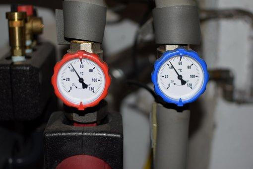 Heating, Bimetallic Thermometer, Thermometer