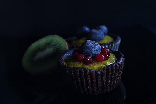 Basket, Cake, Vegan, Raw Foodists, Raw, Blueberry