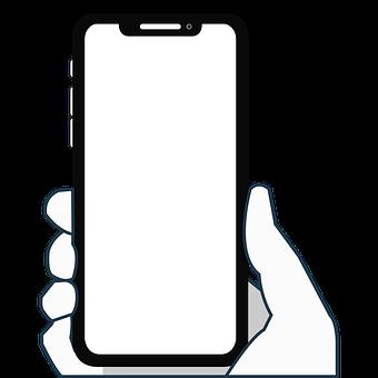 Iphone X, Iphone, Cellular, Smartphone, Hand