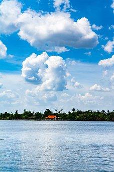 Vietnam, Ho Chi Minh, Saigon, Sky, Cloud, River, City