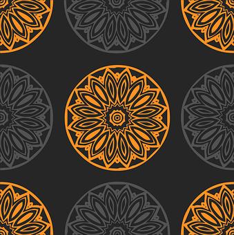 Background, Design, Pattern, Tile, Tiled, Damask