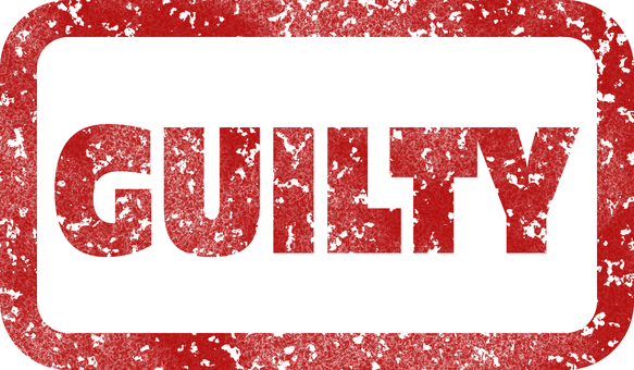 Guilty, Stamp, Charged, Complicit