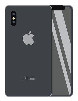 Iphone X, Vector Image, Iphone, Smart Phone, Screen