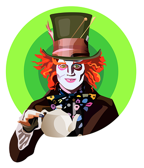 Johnny Depp, Mad Hatter, Hatter