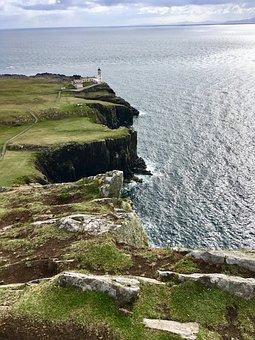 Scotland, Isle Of Skye, Landscape, Nature, Water, Mood